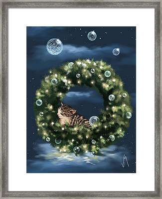 Christmas Dream Framed Print by Veronica Minozzi