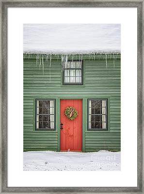 Christmas Dreams Framed Print by Evelina Kremsdorf