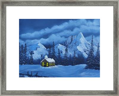 Christmas Eve Framed Print by Bob Williams