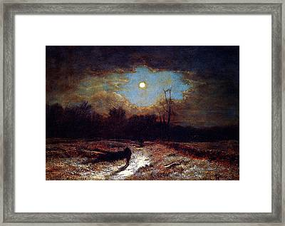 Christmas Eve Framed Print by Celestial Images