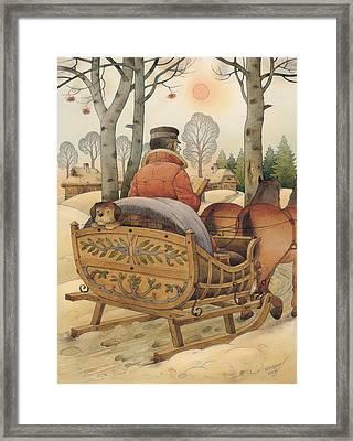 Christmas Eve Framed Print by Kestutis Kasparavicius