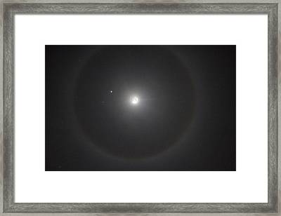 Christmas Eve Over Vacaville Framed Print