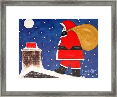 Christmas Eve Framed Print by Patrick J Murphy