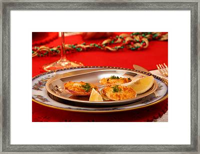 Framed Print featuring the photograph Christmas Eve Starter by Paul Indigo