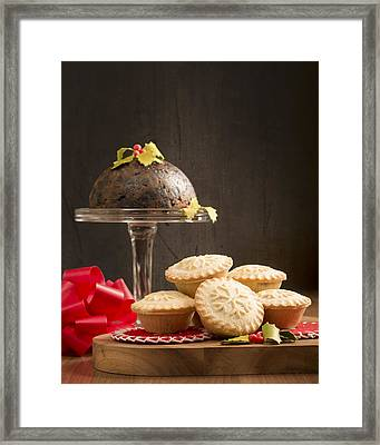 Christmas Fayre Framed Print by Amanda Elwell