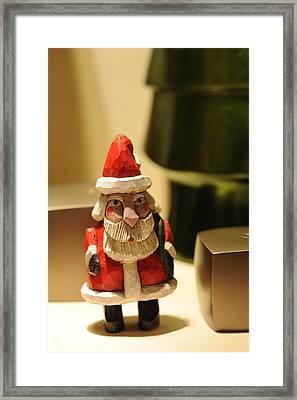 Christmas Figurine II Framed Print