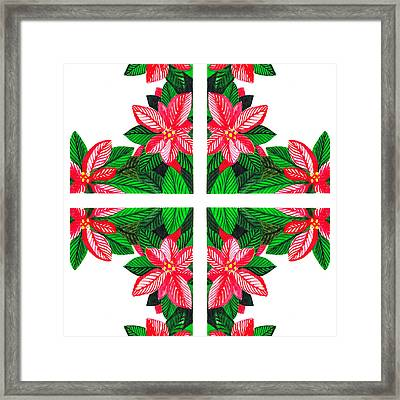 Christmas Gift Framed Print by Irina Sztukowski