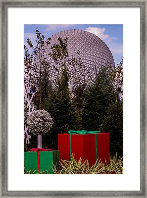 Christmas Gifts From Disney Framed Print by Zina Stromberg