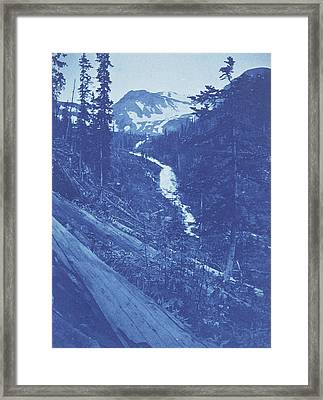 Christmas Greeting, View In Emogen  Creek Framed Print