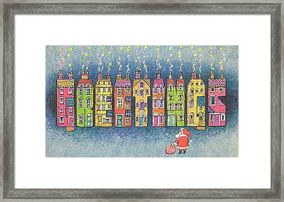 Christmas Greetings  Framed Print by Stanley Cooke