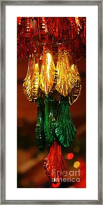 Framed Print featuring the photograph Christmas Holiday Party 4 by Linda Shafer