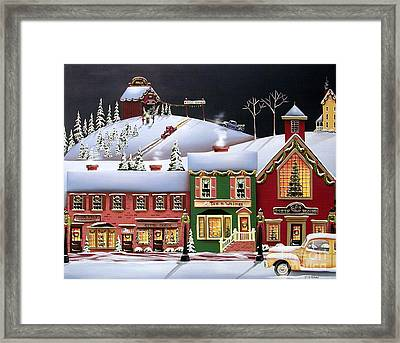 Christmas In Holly Ridge Framed Print by Catherine Holman