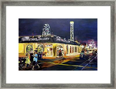 Christmas In July Framed Print by Kevin Brown