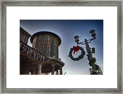 Christmas In Old Town Temecula 1 Framed Print