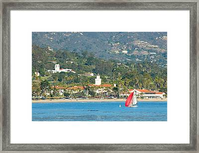 Santa Barbara California Framed Print by Ram Vasudev