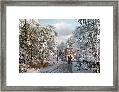 Christmas Invitation Framed Print