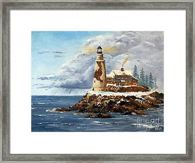 Christmas Island Framed Print by Lee Piper