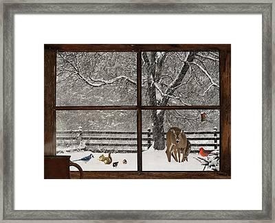 Christmas. Framed Print