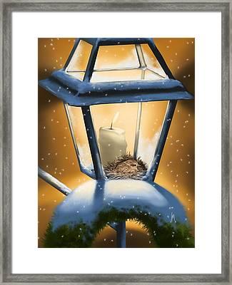 Christmas Light Framed Print