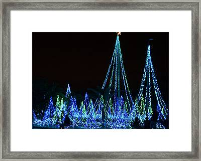 Christmas Lights 1 Framed Print