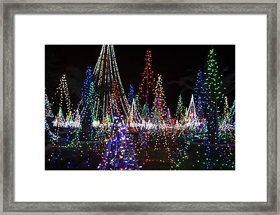 Christmas Lights 3 Framed Print