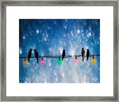 Christmas Lights Framed Print