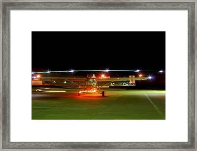 Christmas Lights II Framed Print by Paul Job