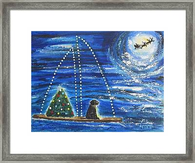 Christmas Magic Framed Print by Diane Pape