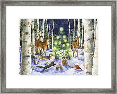 Christmas Magic Framed Print by Lynn Bywaters