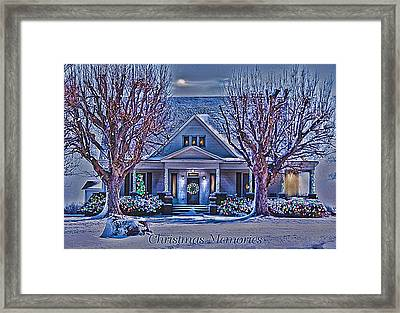 Christmas Memories Framed Print