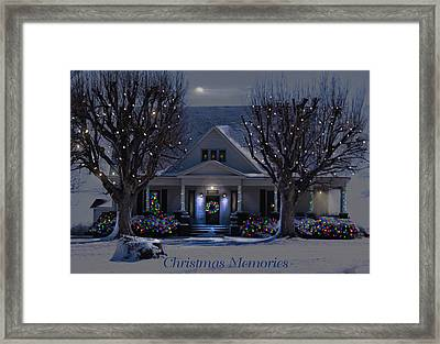Christmas Memories2 Framed Print