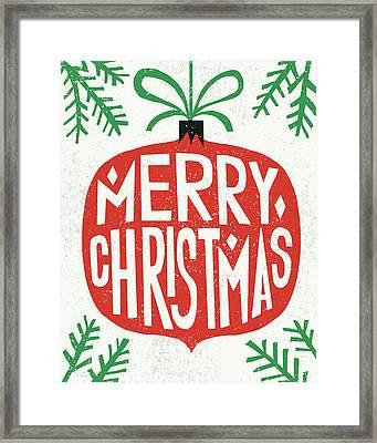 Christmas Framed Print by Michael Mullan