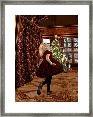 Christmas Morning Framed Print by Kylie Sabra