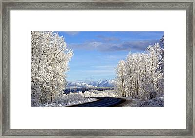 Framed Print featuring the photograph Christmas Morning by Sylvia Hart