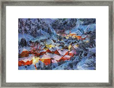 Christmas Night Framed Print