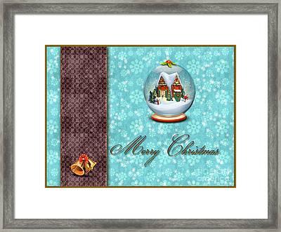 Christmas Card 13 Framed Print