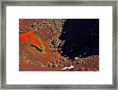 Christmas On Mars Framed Print by Benjamin Yeager