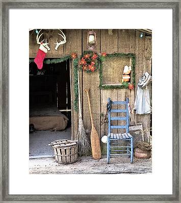 Christmas On The Bayou Framed Print