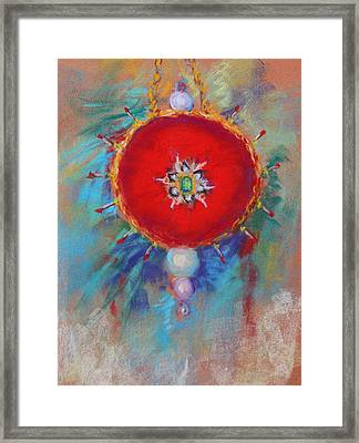 Christmas Ornament 1 Framed Print by M Diane Bonaparte