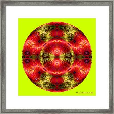 Christmas Ornament 2013 Framed Print by Visual Artist  Frank Bonilla