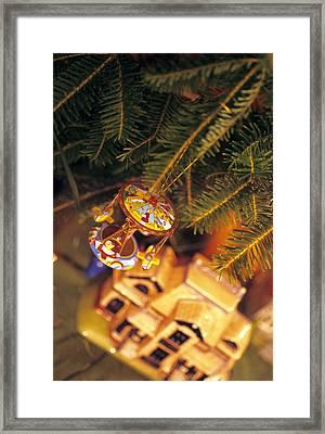 Christmas Ornaments IIi Framed Print