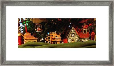 Christmas Ornaments Vi Framed Print