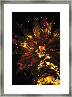 Christmas Overseas Framed Print by Liesl Marelli
