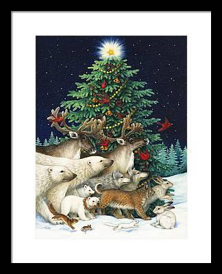 Christmas Tree Framed Prints