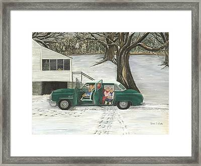 Christmas Past Framed Print