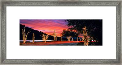 Christmas, Phoenix, Arizona, Usa Framed Print by Panoramic Images