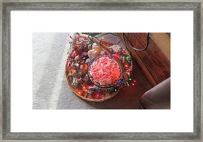 Christmas Pie Framed Print by Diane Mitchell