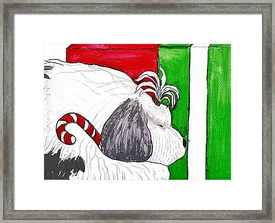 Christmas Presence Framed Print