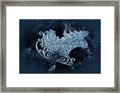 Christmas Silver Ornament Framed Print