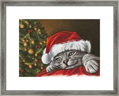 Christmas Special 2 Framed Print by Mahtab Alizadeh